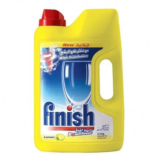 Finish Dishwasher Detergent Powder Lemon 2.5 kg
