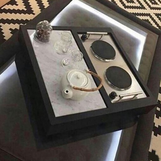 3 In 1 Marble Dowa Big Black - delivered by Siwaj Within 3 Working Days