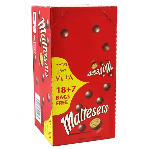 Maltesers Milk Chocolate 37 g 18+7 Free