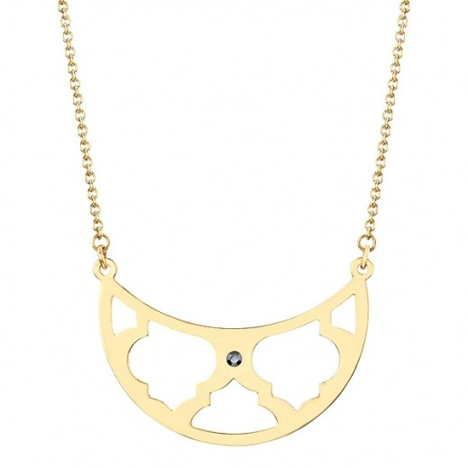 Lola & Grace Arabesque Filigree Frontal Bib Necklace - delivered by Beidoun