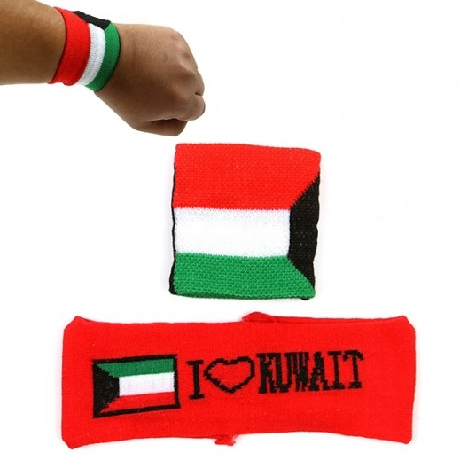 Elegant National Day bandanna for hand and head