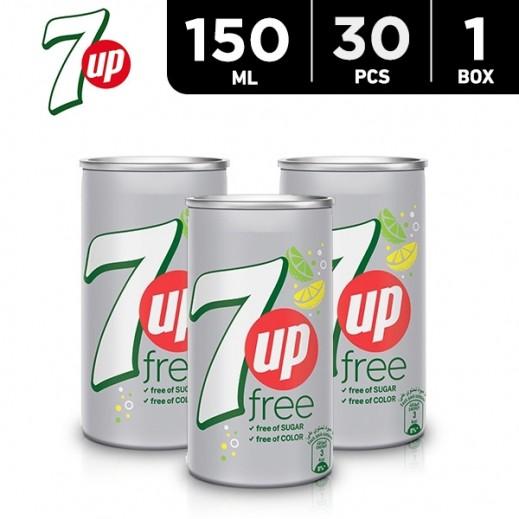 7up Diet Can Carton 30 x 150 ml
