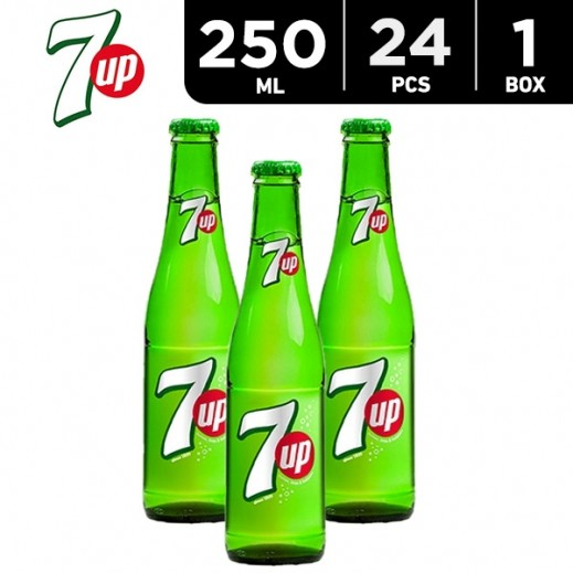 7up Bottle Carton 24 x 250 ml