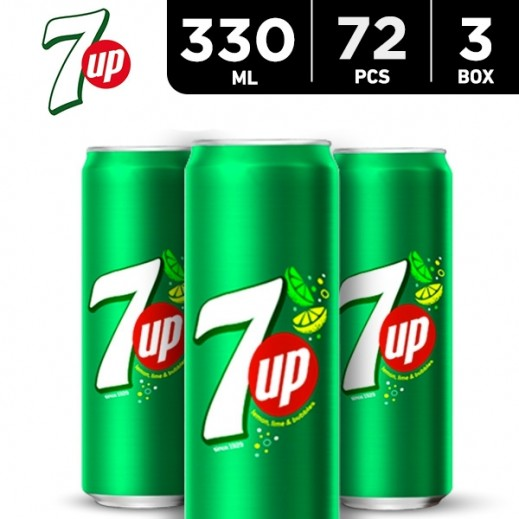 7up Can 72 x 330 ml
