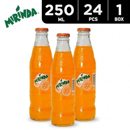 Mirinda Orange Bottle 24x250 ml Carton