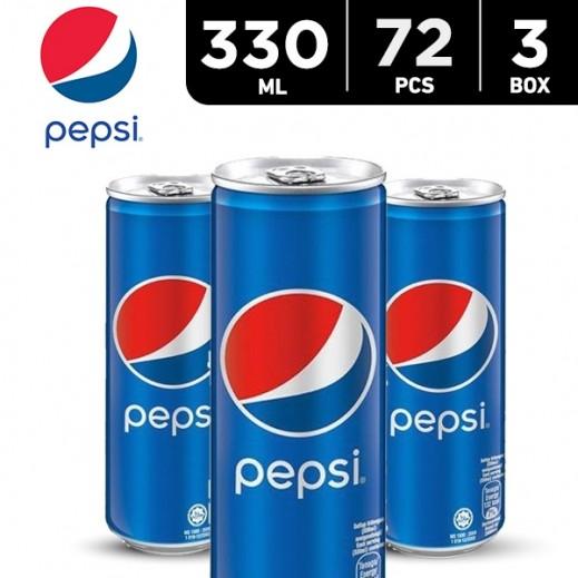 Pepsi Can 72 x 330 ml