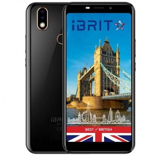 iBRIT XL 32GB 4G Dual Sim Smartphone - Black