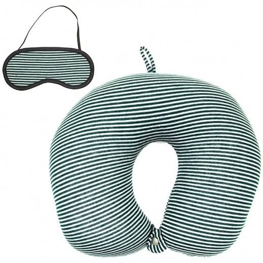 American Flyer Neck Pillow - Green