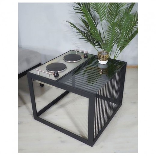 Table Electric Dowa Black - delivered by Siwaj Within 3 Working Days