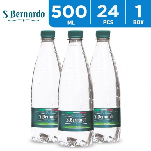 S Bernardo Natural Mineral Water 24 x 500 ml