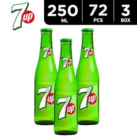 Wholesale - 7up Bottle 250 ml (3 x 24)