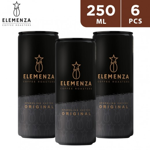 Elemenza Original Sparkling Coffee 6 x 250 ml