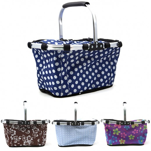 Foldable Cooler Carry Bag (Assorted Color)