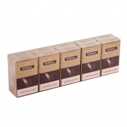 Dunhill Gold King Size Cigarettes (Ctn)