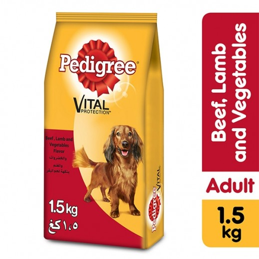 Pedigree Toy Small Breed Beef Lamb & Vegetable Flavour 1.5 kg