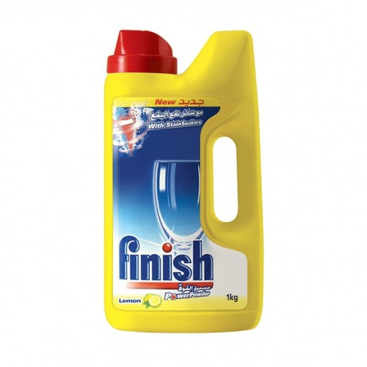 Finish Dishwasher Detergent Powder Lemon 1 kg