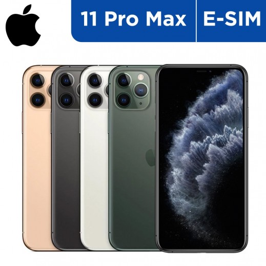 Apple iPhone 11 Pro Max e-sim Smartphone  - delivered by Taw9eel On Next Working Day