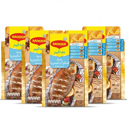 Maggi Seafood Mix Spices 5x37 g