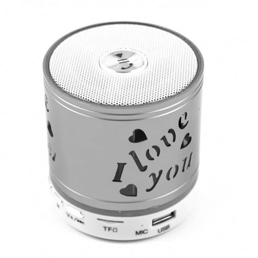 Music Mini Wireless Speaker - Silver