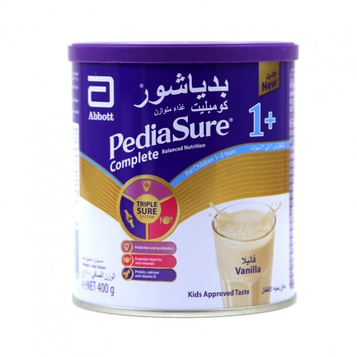 Pediasure Complete Balanced Nutrition 1+ (1-3 Years) 400 g - Vanilla