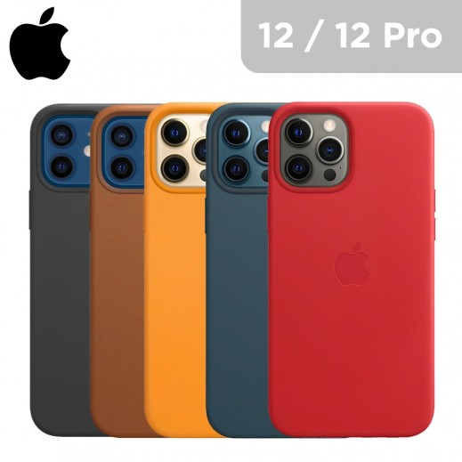 Apple iPhone 12 / 12 Pro Leather Case with MagSafe