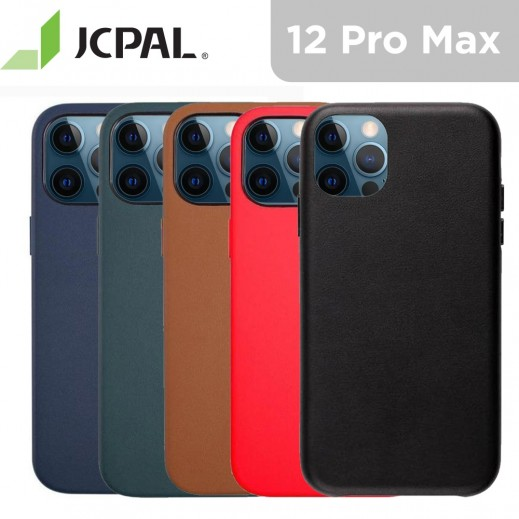 JCPal iGuard Moda Case Leather Style Slim Shell for iPhone 12 Pro Max