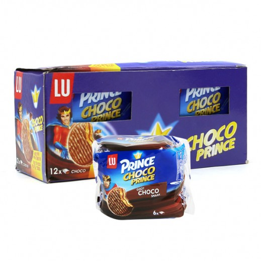 Lu Prince Choco Biscuits 342 g (12 Pieces)