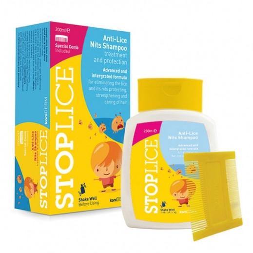 Stoplice Anti Lice Nits Shampoo 250 ml