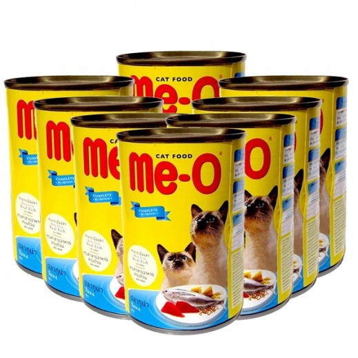 Me-O Tuna In Jelly Adult Cat Food 8x400 g