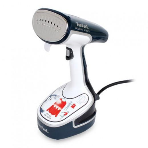Tefal Handheld Access Garment Steamer Sanitizer 1500 W - Blue