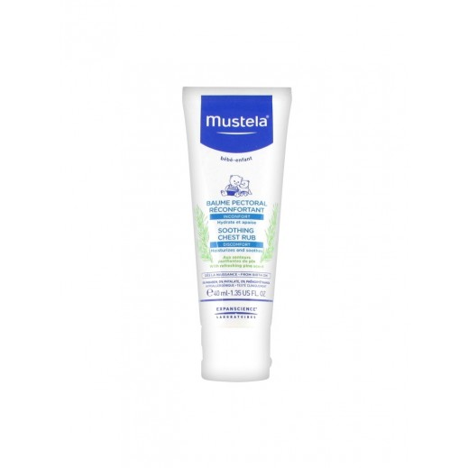 Mustela Baby Soothing Chest Rub 40 ml