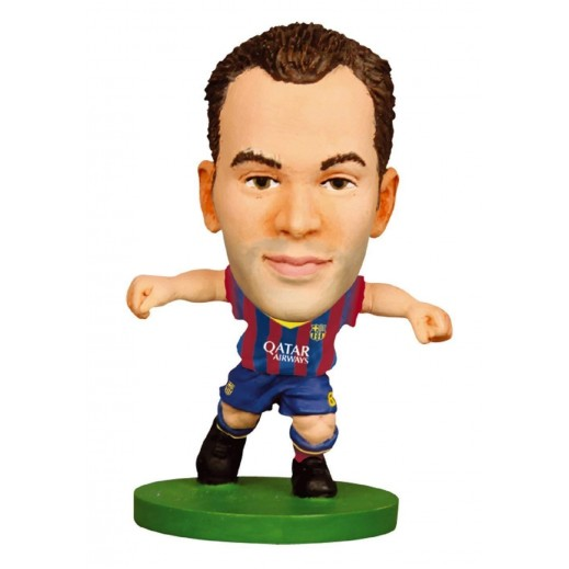 Soccerstarz Barcelona Andres Iniesta Figure