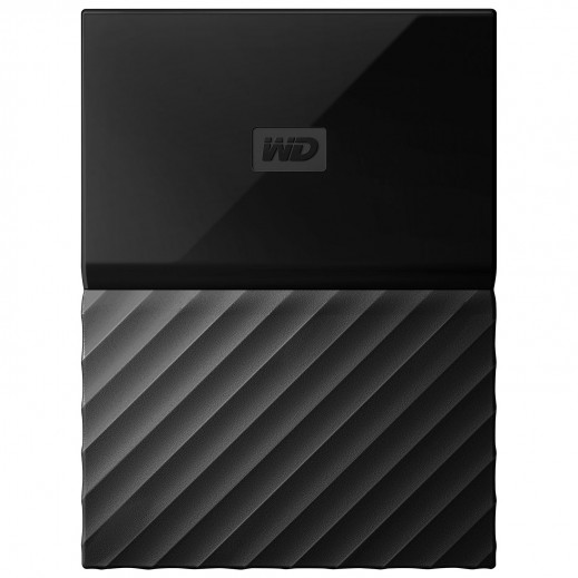 WD 1TB My Passport Portable External Hard Drive - USB 3.0 - Black