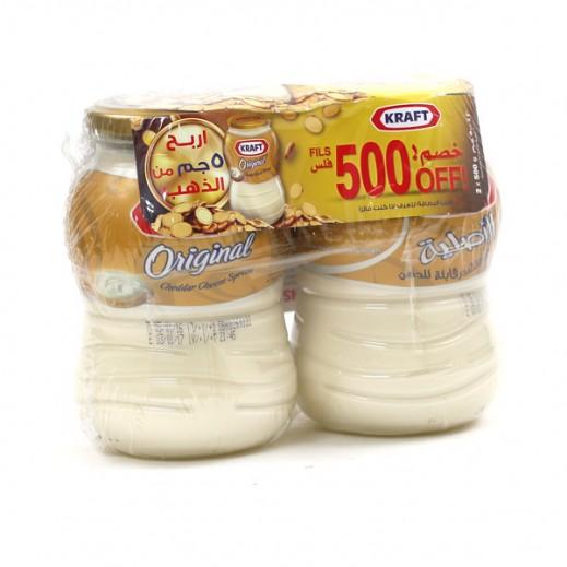 Kraft Cheddar Cheese Spread Orginal 2X480g (500 Fils off)