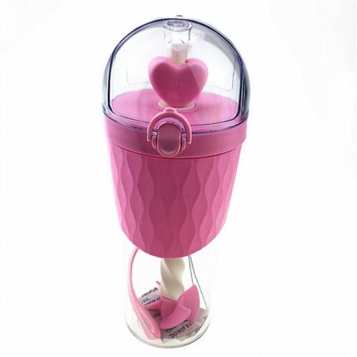 Mtutu Stir Bottle Pink 500 ml