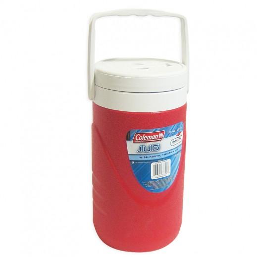 Coleman Round Cooler Jug 1/2 GL -Red