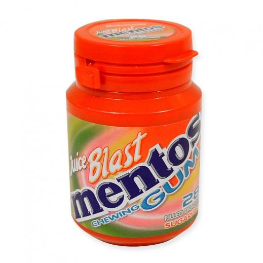 Mentos Juice Blast Gum Bottle 56 g