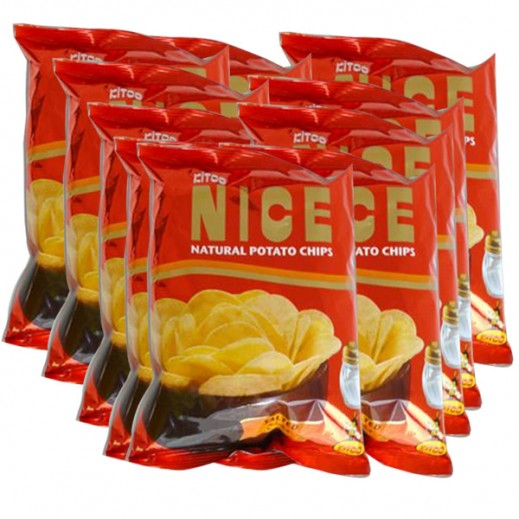 Kitco Nice Chips Lightly Salted 18 g (15 Pieces)