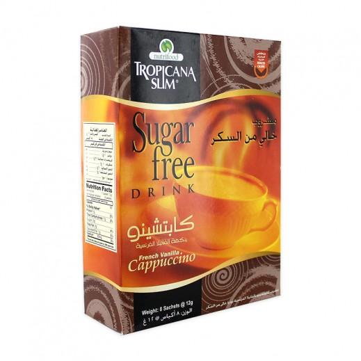 Tropicana Slim Sugar Free Cappuccino Drink 8x12 g