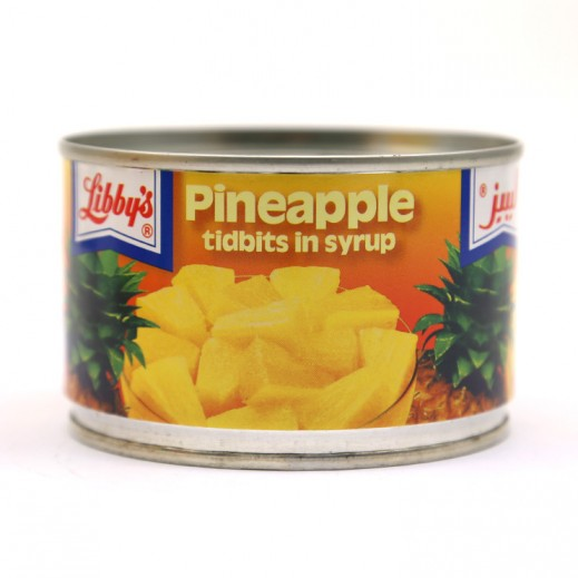 Libbys Pineapple Tidbits in Syrup 235 g