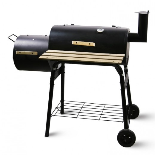 Heavy Duty Charcoal Smoker Grill Large + BBQ Tool Set Free - delivered by Al Naki Company