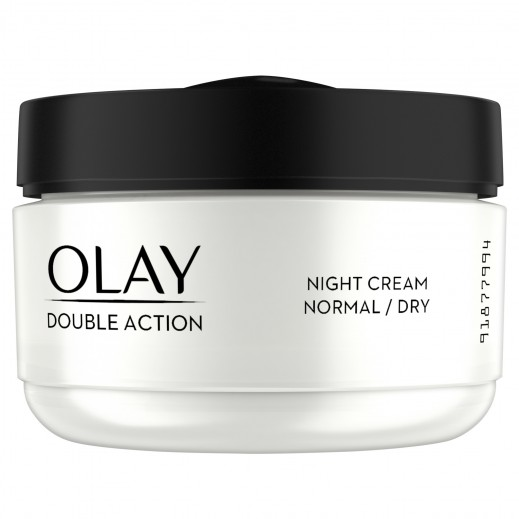 Olay Double Action Night Cream Moisturizer for Normal to Dry Skin 50 ml