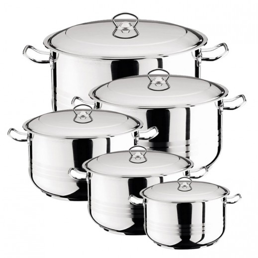Berlin Asiret Cookware Set - 10 Pieces