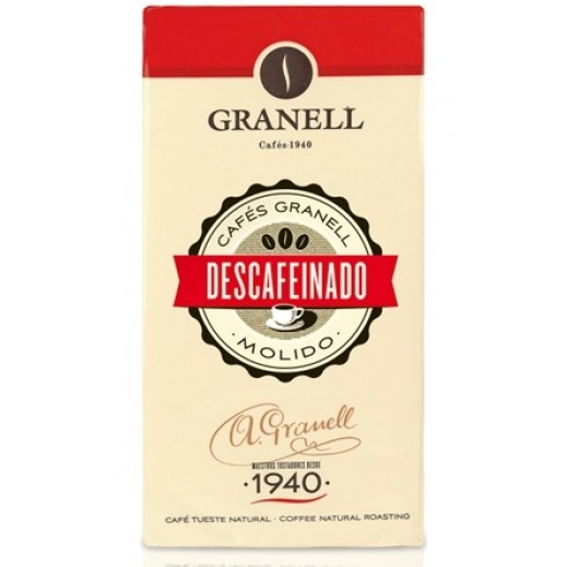 Granell Decaffeinated Ground Coffee 250 g