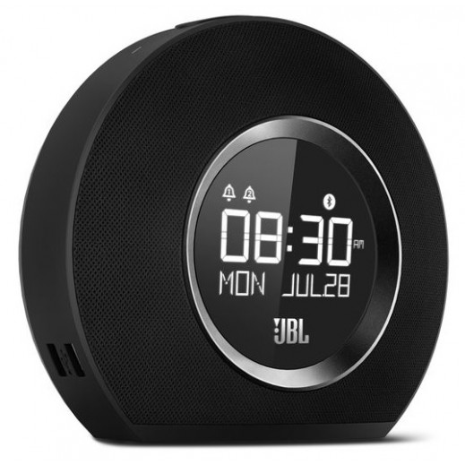 JBL Horizon Bluetooth Clock Radio - Black - delivered by Oskar On Next Working Day