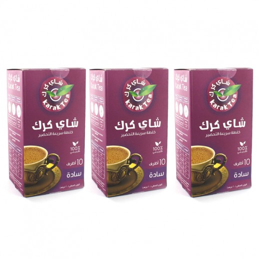 Wholesale - Karak Tea Original Instant Premix 10x20 g (3pieces)