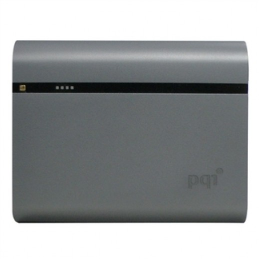 PQI Power Bank 12,000mAh Gray