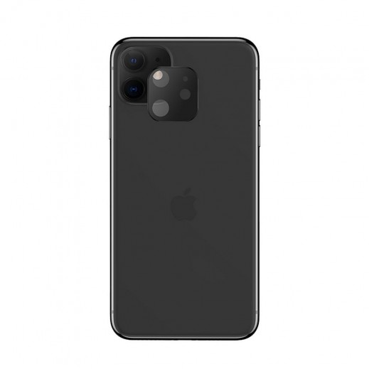 Hoco Lens Tempered Glass Screen Protector For iPhone 11 - Black