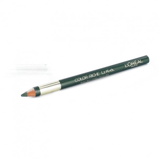 L'oreal Color Rich Khol Pencil With Color Of Military Green