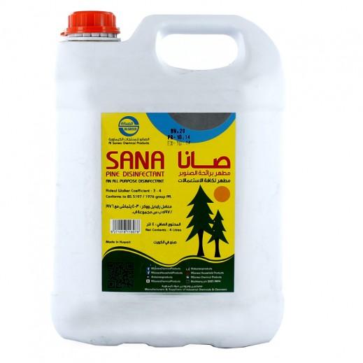 Al-Sana Disinfectant Pine 4 L